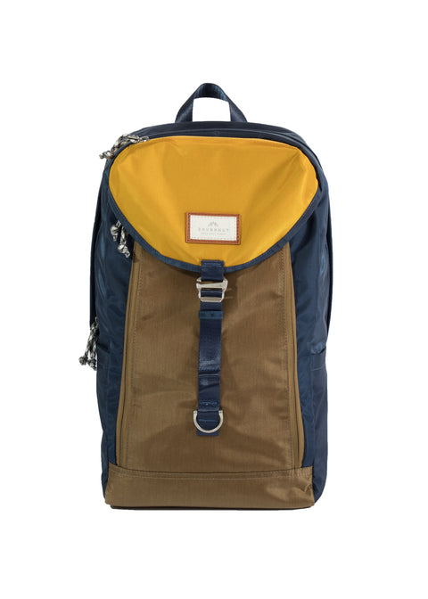 MORRIS GLOSSY BLOCKING SERIES Navy x Khaki