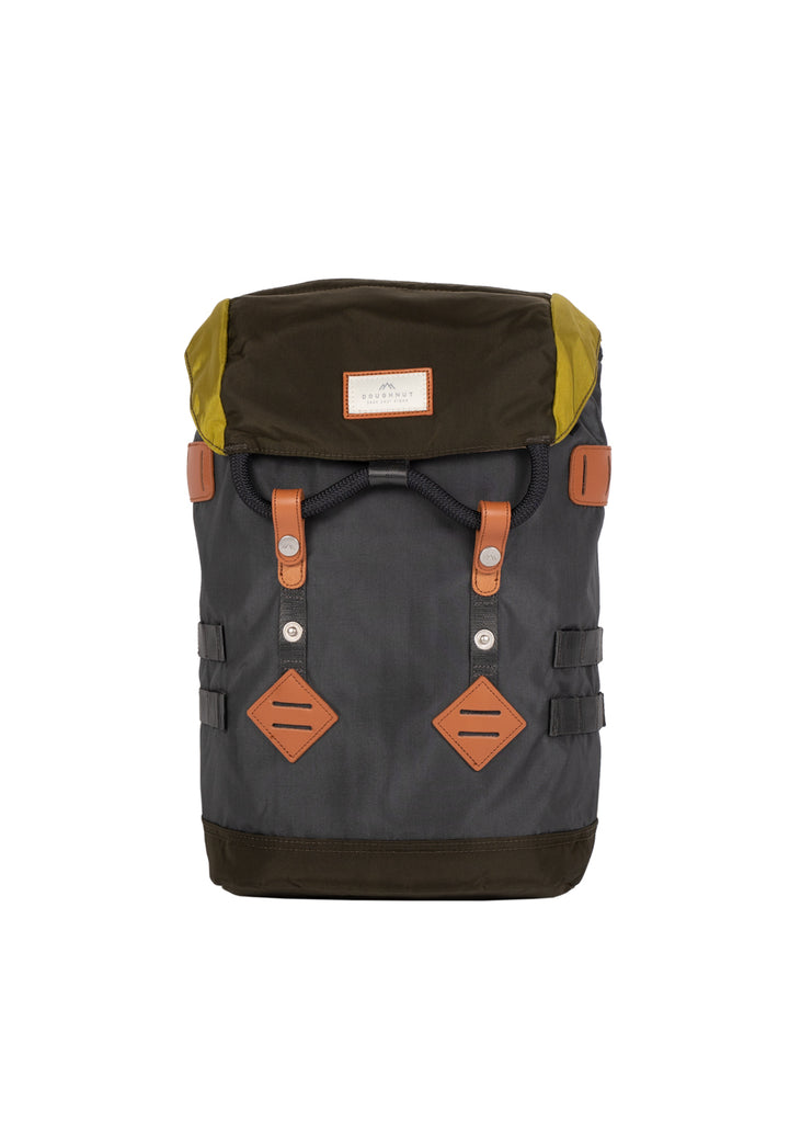 COLORADO SMALL GLOSSY BLOCKING Charcoal x Olive