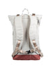 CHRISTOPHER NYLON MID TONE SERIES Light Gray x Maroon