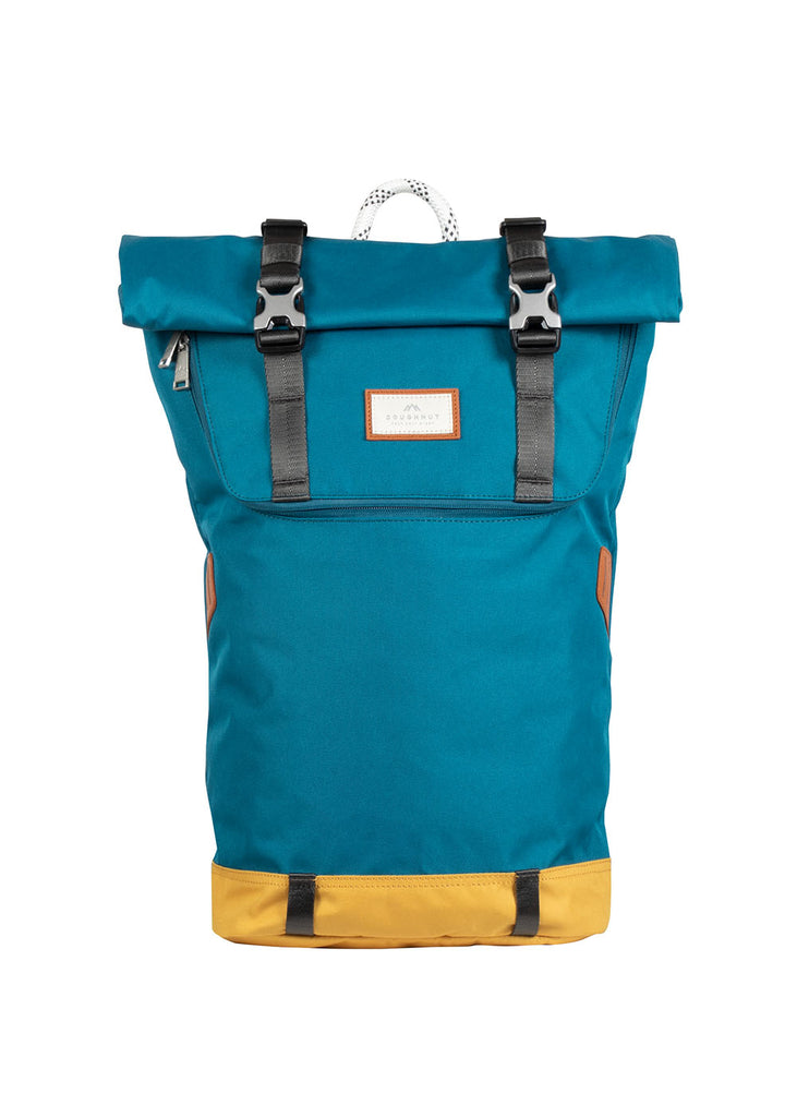 CHRISTOPHER NYLON MIDTONE SERIES Teal x Mustard
