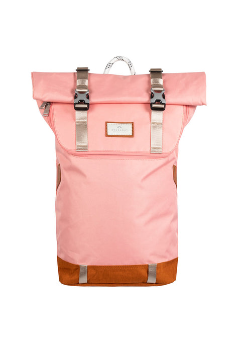 CHRISTOPHER NYLON MIDTONE SERIES Light Pink x Pumpkin