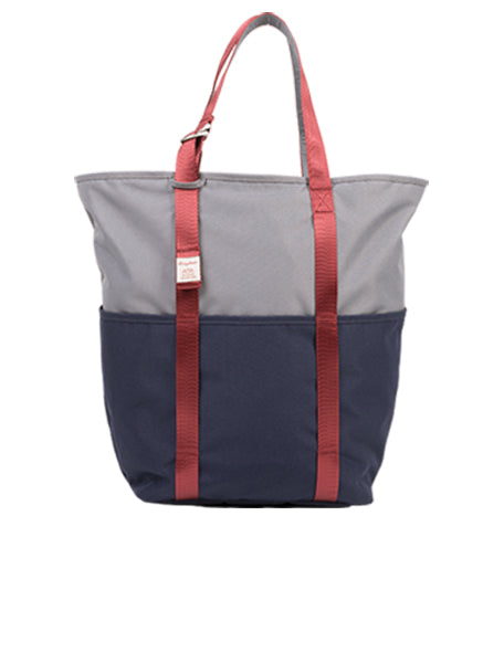 DAILY TOTE Grey x Navy