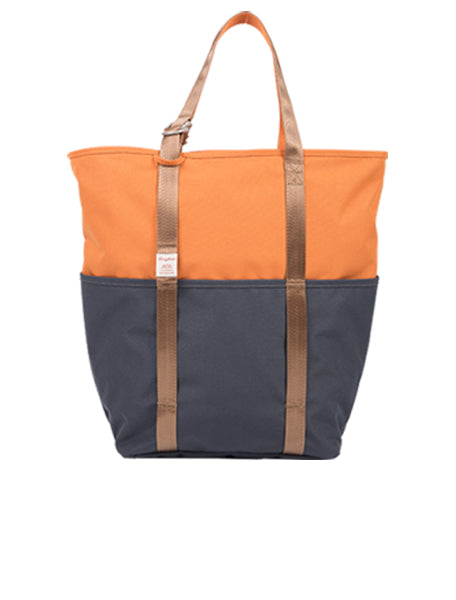 DAILY TOTE Orange x Charcoal