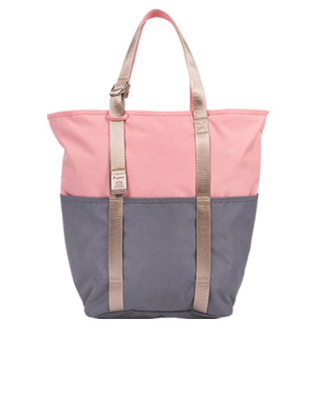 DAILY TOTE Pink x Gray