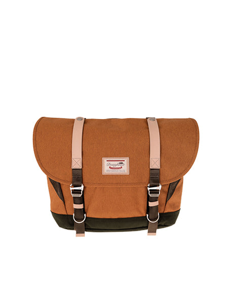 DENVER MESSENGER Pumpkin x Dark Green