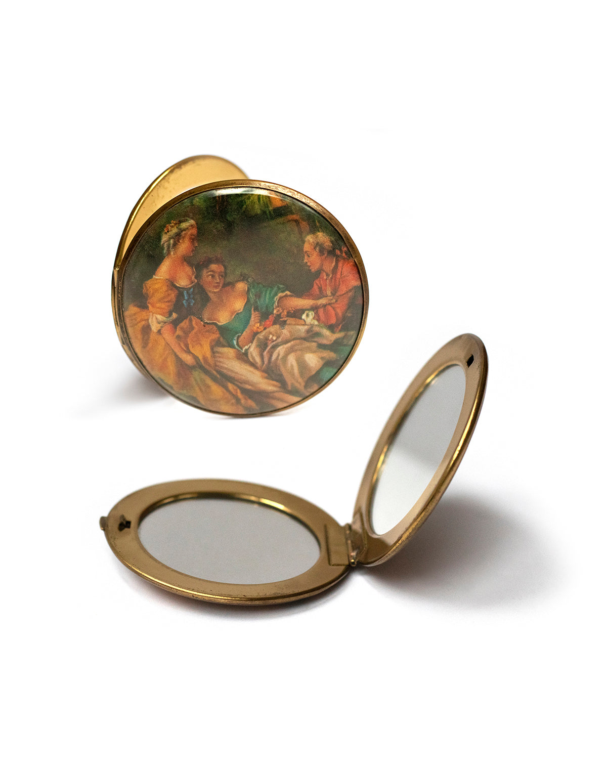 Lovers Quarrel Hand Mirror