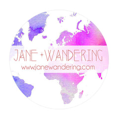 Jane Wandering Button