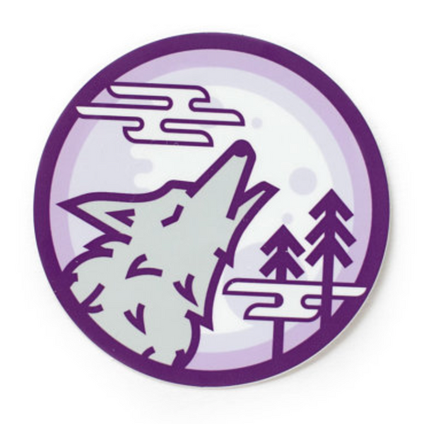 Wolf Cry Sticker