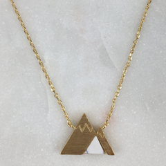 Oh Darling Mountain Necklace