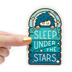 Sleep Under the Stars Vinyl Sticker