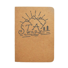 Stay Wild Travel Journal