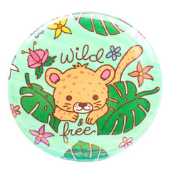 Wild and Free Button