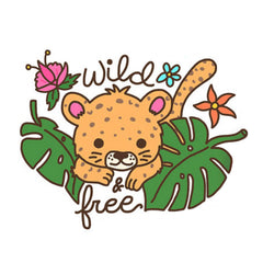 Wild and Free Vinyl Sticker