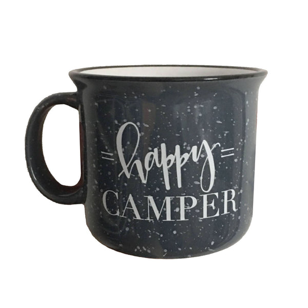 Happy Camper Ceramic Mug