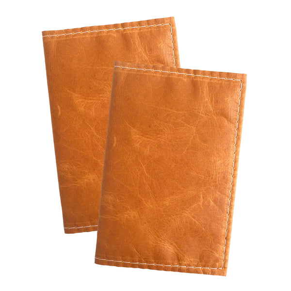 Plain Jane Natural Leather Passport Cover