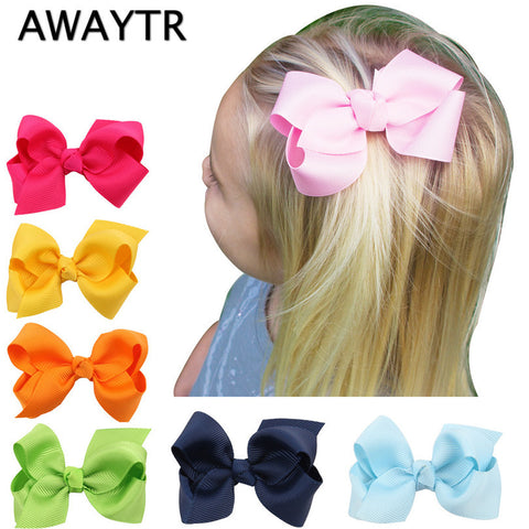 2Pcs Hair Bows with Clips