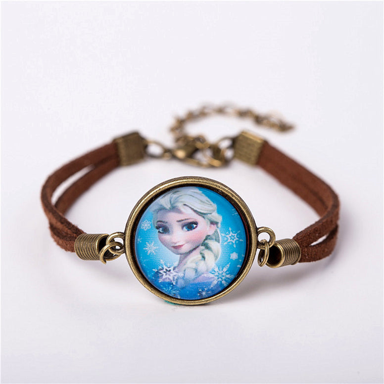 Cute Cartoon Leather Bracelets