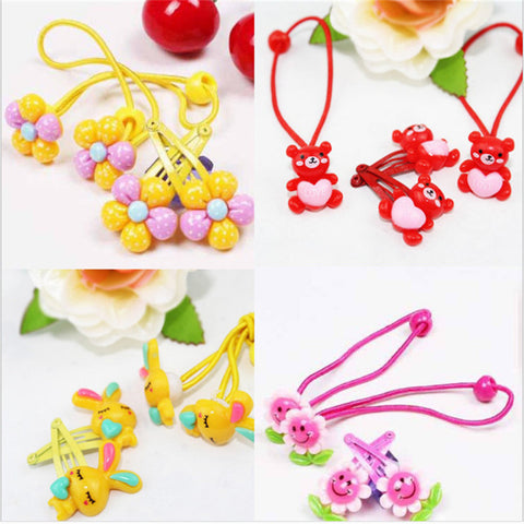 4 Pcs Flower Hair Accessories