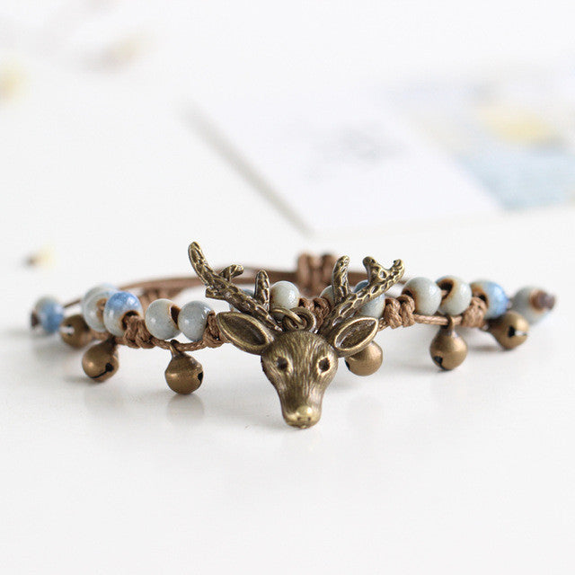 Deer Fashion Beaded Bracelets