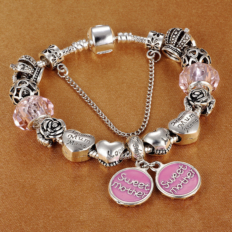 Sweet Mother Charm Bracelets