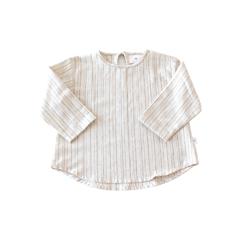 LS sandy top - stripe
