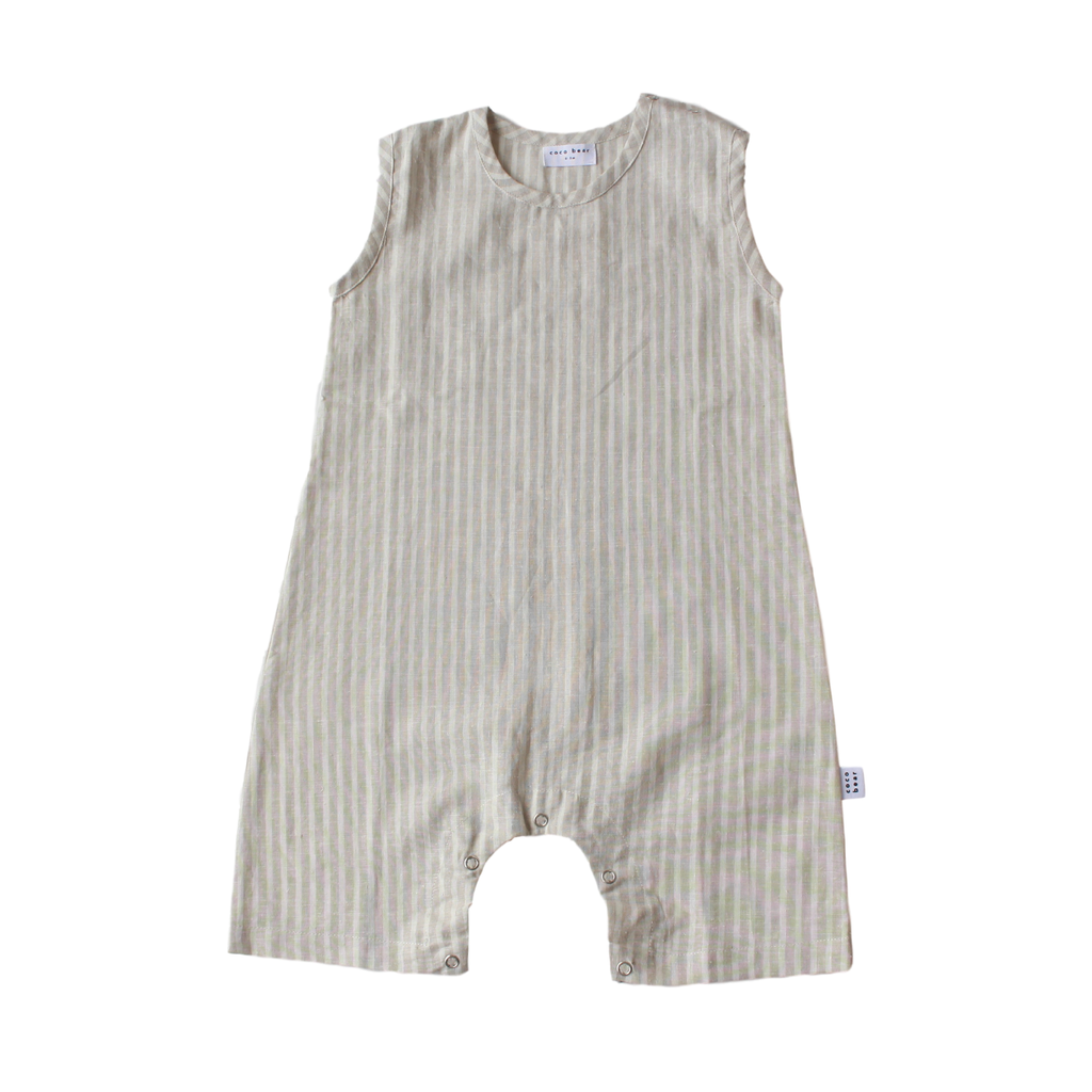 ziggy romper - stripe
