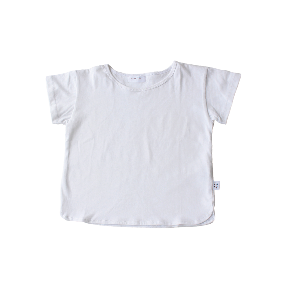 Coco Bear cute basic cotton tees for summer - for boys and girls