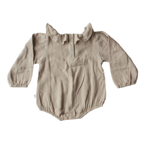 cute baby, kids summer romper made from soft cotton.
