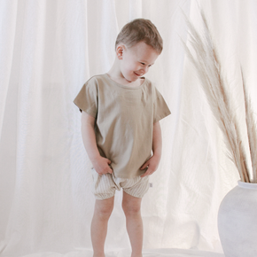 Coco Bear bloomers - summer shorts for boys and girls