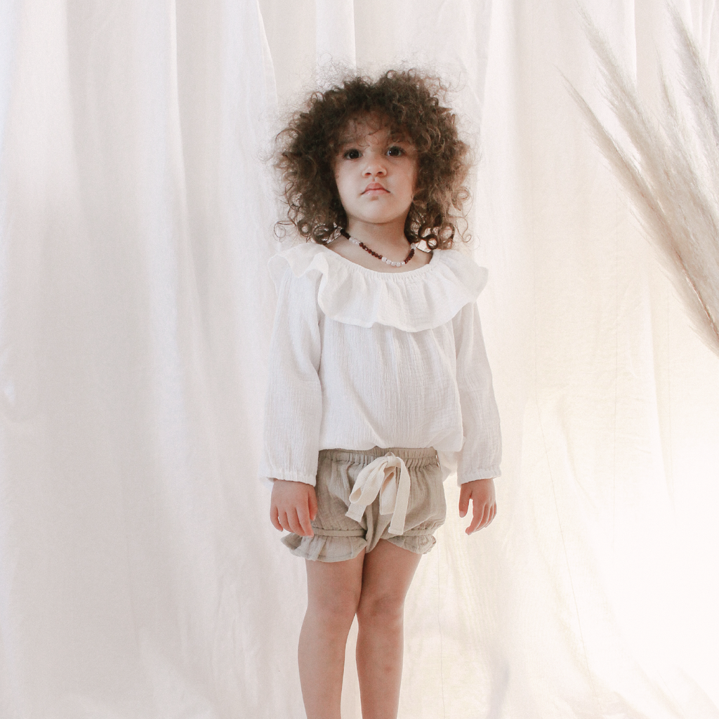 girls frill bloomer shorts from coco bear
