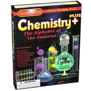 ScienceWiz Chemistry Plus Experiment Kit