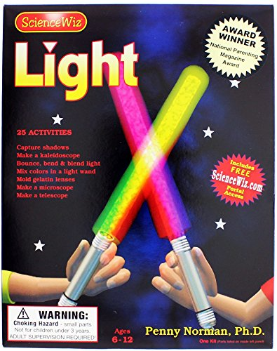 ScienceWiz Light Experiment Kit