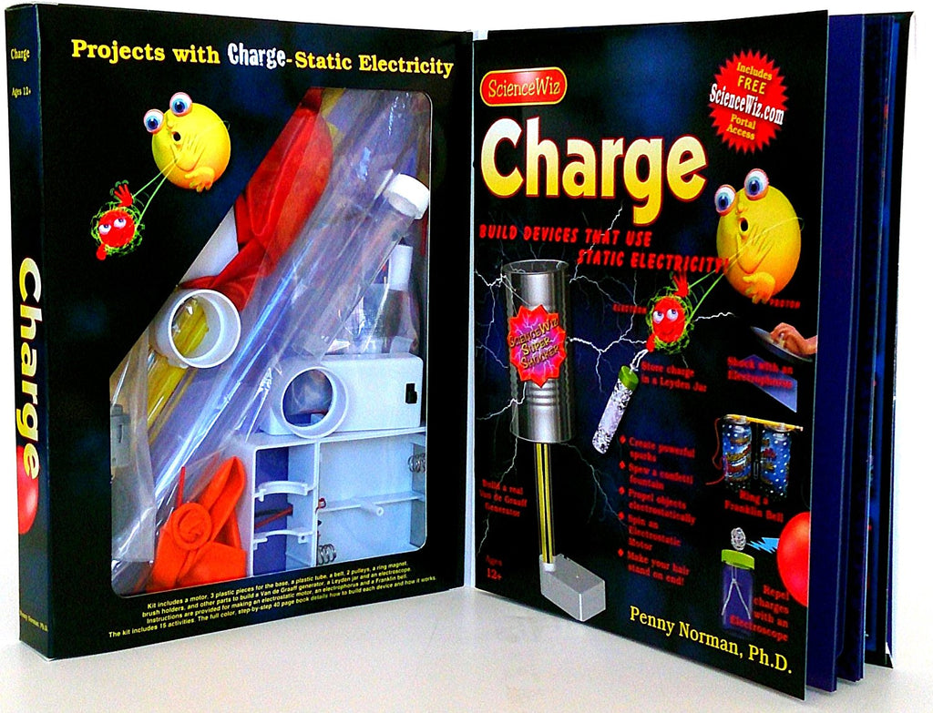 ScienceWiz - Charge! Science Kit