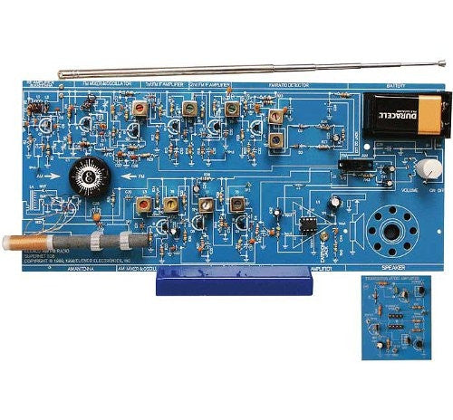 AM/FM Radio kit (Combo IC & Transistor)