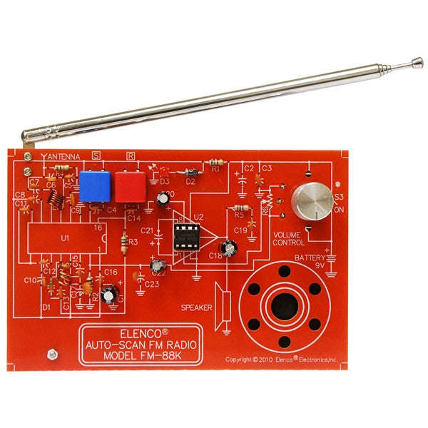 AutoScan Fm Radio Kit by Elenco
