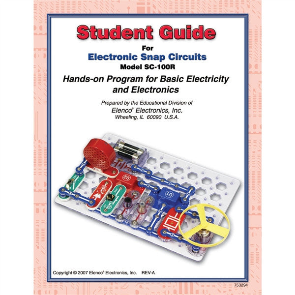 Snap Circuits Student Guide for SC-100/SC100R