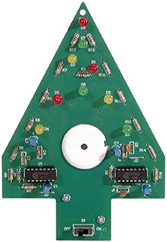 Christmas Tree Soldering Kit by Elenco