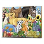 The Learning Journey 48 Piece Lift & Discover Jigsaw Puzzle - Animal Friends