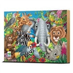 The Learning Journey 48 Piece Lift & Discover Jigsaw Puzzle - Animals of the World