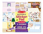 Melissa & Doug Reusable Sticker Pad - Play House!