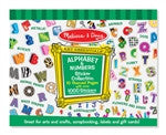 Melissa & Doug - Sticker Collection - Alphabet & Numbers