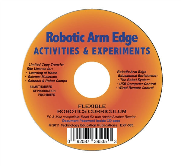 OWI Robotic Arm Edge Activities and Experiments Curriculum