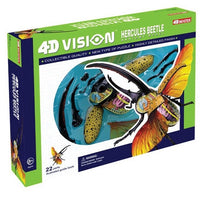 4D Vision Hercules Beetle Anatomy Model by Tedco Toys