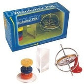 Discovery Pack - Gyroscope, Prism, Magnets by Tedco toys