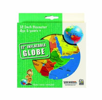 "12"" Inflatable Globe by Tedco Toys"