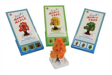 Magic Maple Tree - Yellow | Crystal Science by Tedco Toys