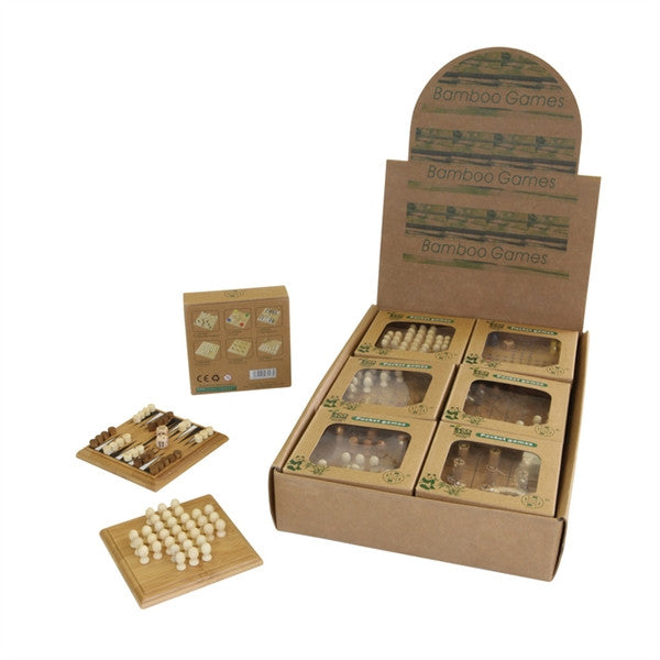Mini Bamboo Games by Tedco Toys