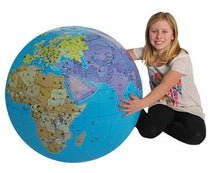 "33"" XXL Inflatable Globe by Tedco Toys"