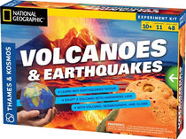 Thames & Kosmos Volcanoes & Earthquakes Simulation Kit