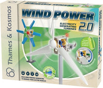 Thames & Kosmos Wind Power 2.0 Renewable Energy Science Model